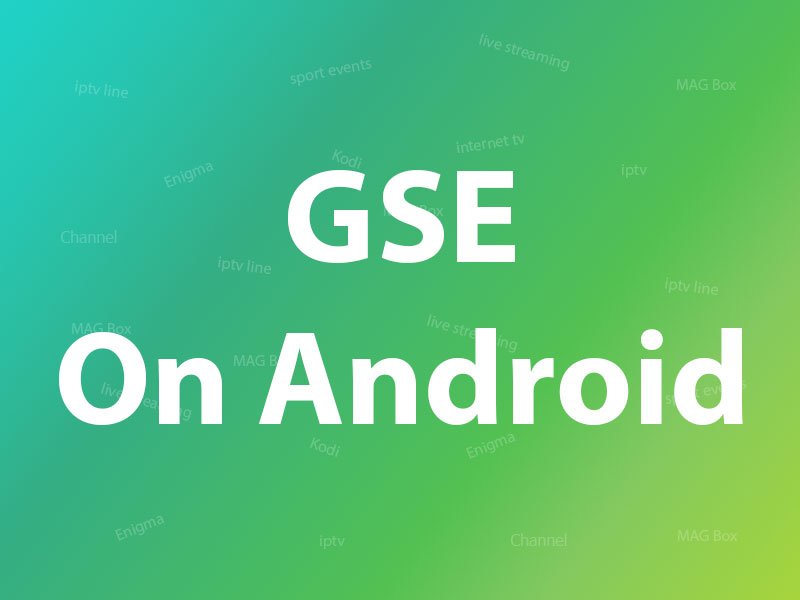 GSE app on Android