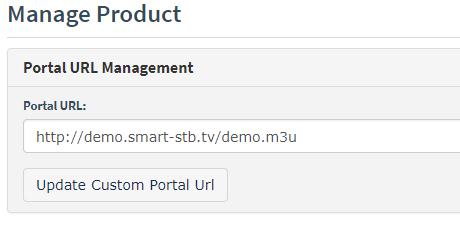Smart STB m3u playlist