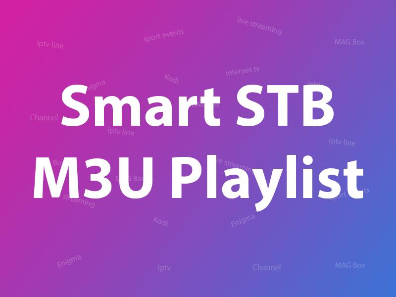 Smat STb m3u playlist